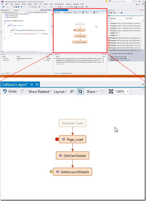 Visual Studio 2013 New Features - CodeMap2